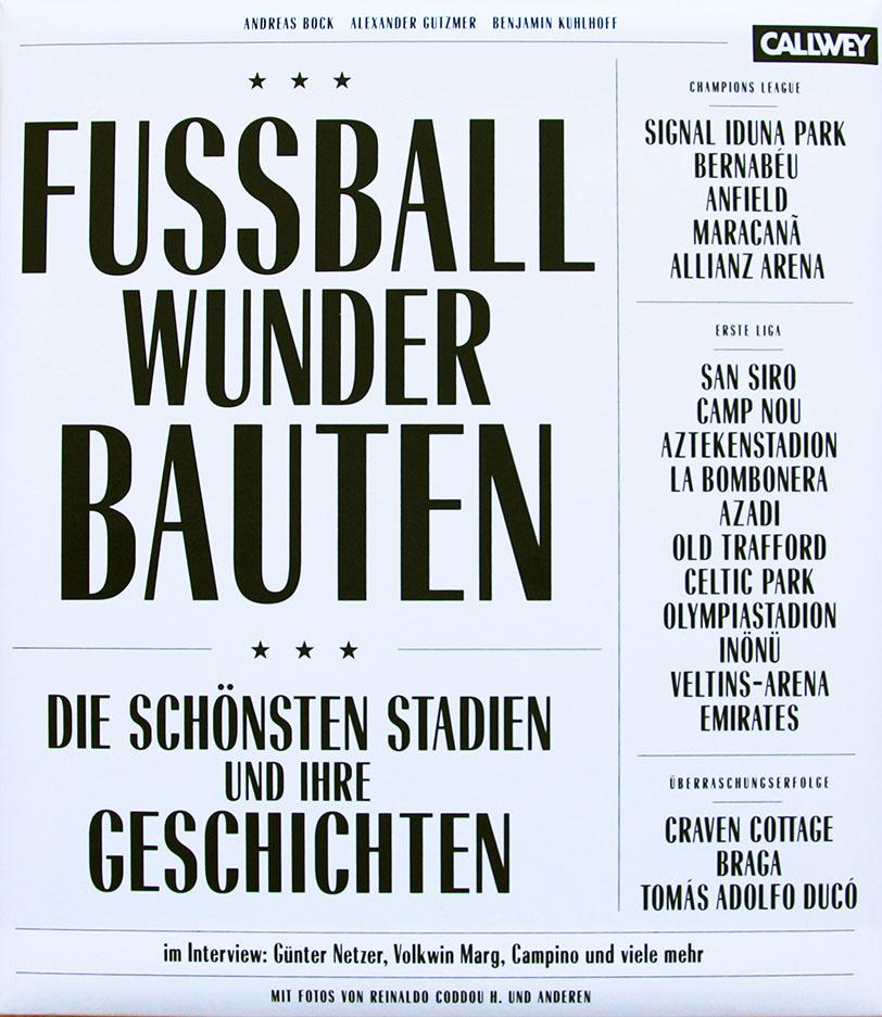Fussball Wunder Bauten Bettina Ruehm Dipl Ing